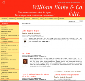 Editions William Blake & Co