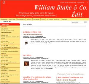 Editions William Blake & Co