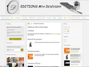 Éditions Mya Desévigny