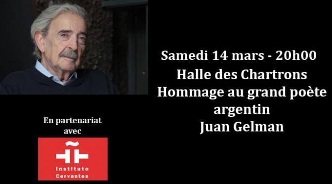 Hommage à Juan Gelman